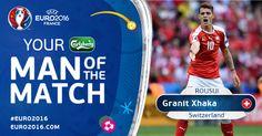 Arsenal vui mừng với màn thi đấu ấn tượng của Granit Xhaka tại Euro - Lịch bóng đá trực tuyến 24h