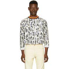 WALES BONNER Beige Ebony T-Shirt. #walesbonner #cloth #