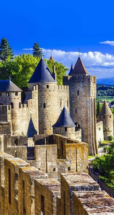 Carcassonne Château, France | 14 of the Most Amazing Fairy Tales Castles you should See in a Lifetime