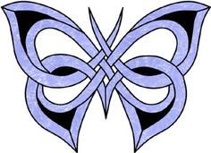 butterfly Stained Glass Pattern -  this would actually be a pretty tattoo.