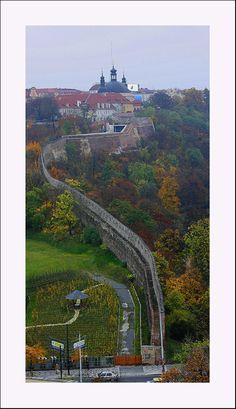 Great Wall in Prague - Vyshegrad, Prague Copyright: Serghei Pakhomoff