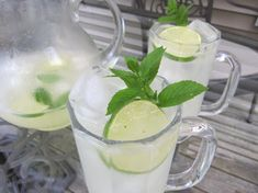Refreshing Mojitos by the Pitcher: Exactly how a summer party drink should be served -- by the pitcher full.