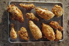 The Pioneer Woman's secret to golden-brown Fried Chicken perfection, oh yeah - it's finger licking good too!