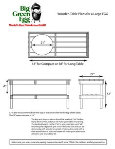 Large green egg table plans I didn t hesitate to dive in Patio and outdoor kitchen by Outdoor Homescapes of Houston features a Big Green Egg Grill, Big Green Egg Outdoor Kitchen, Outdoor Kitchen Design, Outdoor Kitchens, Diy Kitchen, Kitchen Ideas, Big Green Egg Large, Large Egg, Kamado Grill