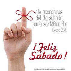 ¡Con alegría saludamos a todos nuestros amigos y hermanos en éste maravilloso sábado! #FelizSabado