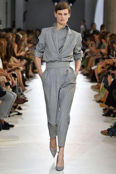 Festa high-rise straight wool pants gray glen plaid prince of wales check I Love Fashion, High Fashion, Womens Fashion, Milan Fashion Weeks, Men Style Tips, Wool Pants, Affordable Fashion, Couture Fashion, Fashion Outfits