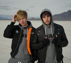 Colby Brock, Sam And Colby, Friend Photos, Aesthetic Pictures, Youtubers, Rain Jacket, Windbreaker, Raincoat, Boys