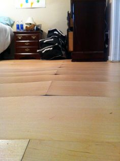 Here Is Some Water Damaged Laminate,how To Repair Laminate Flooring | DIY |  Pinterest | Laminate Flooring, Water And Flooring