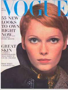 "Clinique-Feature-Vogue-1967 ~ where it all began, an article ""Can great skin be created""? The cover featured Mia Farrow..."