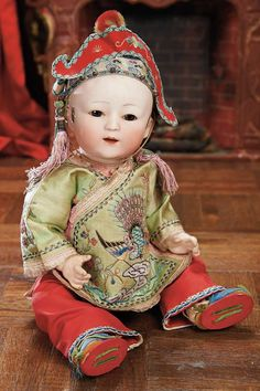 View Catalog Item - Theriault's Antique Doll Auctions, silk