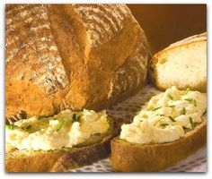 Maslovnik со свежим хлебом.