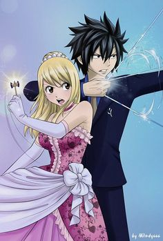 fairy tail lucy and gray | grey et lucy - Fairy-Tail-00x