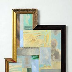eclectic wall art & a video on how to hang art.