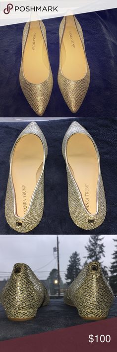 NWOT Ivanka Trump flats NEVER WORN PERFECT CONDITION Ivanka Trump Shoes Flats & Loafers