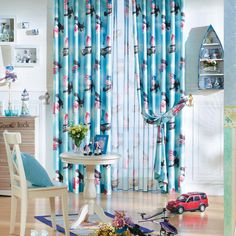 Sailing Mediterranean Blue Kids Curtains  #kids #curtains #homedecor #nursery #custommade Blue Kids Curtains, Home Interior, Sailing, Nursery, Home Decor, Candle, Baby Room, Child Room, Interior Design