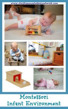 Montessori Infant Environment  - www.christianmontessorinetwork.com