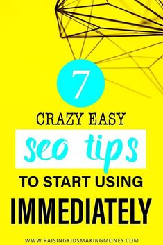 Learn about these 7 simple SEO tips that you can start implementing right now! Search Engine Marketing, Seo Marketing, Affiliate Marketing, Digital Marketing, Image Clipart, Seo Guide, Seo For Beginners, Seo Keywords, Seo Strategy