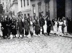 Un rápido paseo por la historia de Madrid en imágenes detalladas desde el año 1907 a 1969.