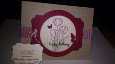 Stampin' Up! 2014 Occasions catalog, Blessed Easter, Hardwood background, www.maryellen.stampinup.net