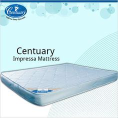 Reduce pressure on your body joints as you sleep and ensure yourself a rejuvenating sleep only with Centuary Impressa Mattress.