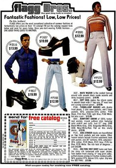 Super Fly Seventies Fashion From The Flagg Bros – Voices of East Anglia