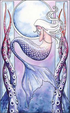 Deep Sea Mermaid by SamNagel