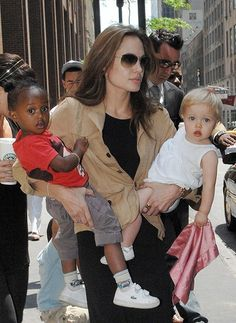 Angelina Jolie Adoption | ANGELINA JOLIE AND ADOPTED CHILDREN