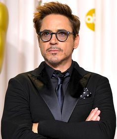 Robert Downey Jr. What? He's not British? Sorry...I can't hear you over the awesomeness!