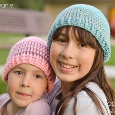 "wecrochetit: "" Crochet Striped Beanie ❥ 4U // FREE PATTERN HERE """