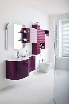 Bagno Cerasa Slim progettazione casa funzionale, prodotti di arredamento Bassi Arredamenti