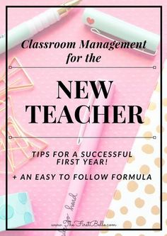 Tips for Classroom management! Behavior is the most important aspect of a strong classroom. Learn how to get control of your new class- even the tough ones!