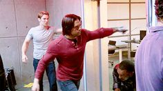 Civil War Behind the Scenes... So this means he's fighting EVERYBODY! Interesting....