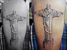 Christ the redeemer tattoo -by pranay shah