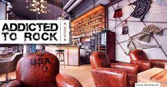 Addicted to rock interior design 01 Bar Design Awards, Restaurant Bar, Addiction, Wall Panelling, Concept, Rock, Interior Design, Store, Austria