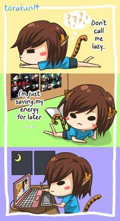 Torakun Comics :: I'm not lazy... I'm an artist!    Tapastic - image 1
