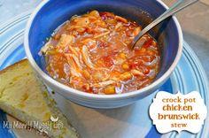 Easy Slow Cooker Chicken Brunswick Stew {recipe}