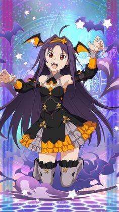 Sword Art Online Memory Defrag - [Vampire in Love] Yuuki