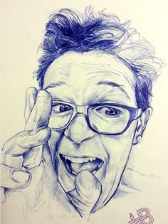 "Saatchi Art is pleased to offer the drawing, "".,"" by HB Graphik. Original Drawing: Ballpoint Pen on N/A. Ballpen, Pen Sketch, Saatchi Online, Drawing Techniques, Ballpoint Pen, Drawing Reference, Saatchi Art, Male Portraits, Ink"