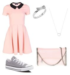 """""""Untitled #2"""" by flawless-boss on Polyvore featuring Converse, Kate Spade, Tiffany & Co. and STELLA McCARTNEY"""