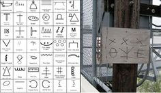 The Hobo Code: The Secret Language of the Working Class Stencil Patterns, Stencil Designs, Hobo Code, Hobo Signs, Hobo Symbols, Secret Language, Migrant Worker, Interactive Art, Working Class