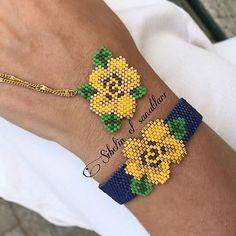 Loom Bracelet Patterns, Bead Loom Patterns, Beading Patterns, Seed Bead Jewelry, Beaded Jewelry, Beaded Bracelets, Beading Techniques, Beading Tutorials, Bead Crochet