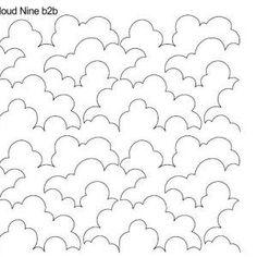 Cloud Nine quilting pantograph