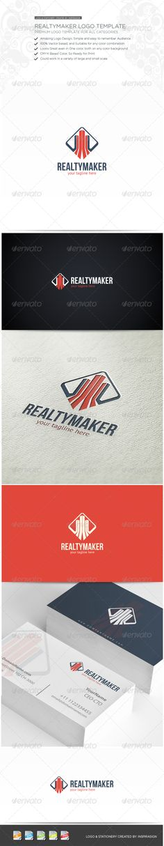 RealtyMaker - Simple Logo by Romaa Roma, via Behance