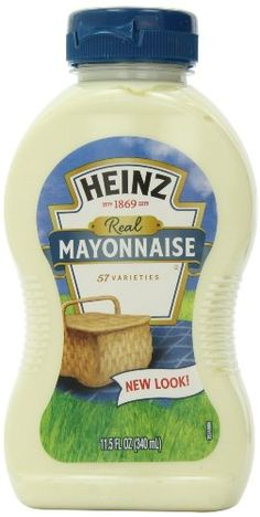 Heinz Mayonnaise, 11.5 Ounce Bottles (Pack of 3) >>> Wow! I love this. Check it out now! : Dinner Ingredients.