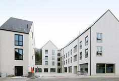 Gemeinsam statt einsam: Belgisches Wohn- und Sozialzentrum - DETAIL - Magazin für Architektur + Baudetail