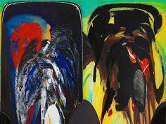Fredy Holzer https://flic.kr/p/X8WheY | Tú y yo,  fredy holzer | Paint oil ink