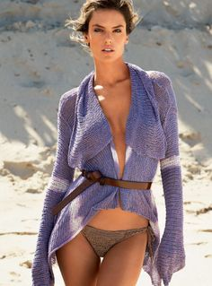 Alessandra Ambrosio by Patrick Demarchelier for Vogue Brazil January 2015