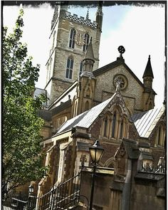 Bricks and mortar  with a sacred heart www.couchflyer.com  #cathedral #church #londonbridge #london #travel