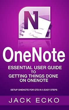 OneNote: OneNote Essential User Guide to Getting Things Done on OneNote: Setup OneNote for GTD in 5 Easy Steps (OneNote & David Allen's GTD (2015)) by Jack Echo http://www.amazon.com/dp/B017OGYVAC/ref=cm_sw_r_pi_dp_wOavwb1MGPKGR