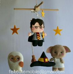 Harry Potter em feltro